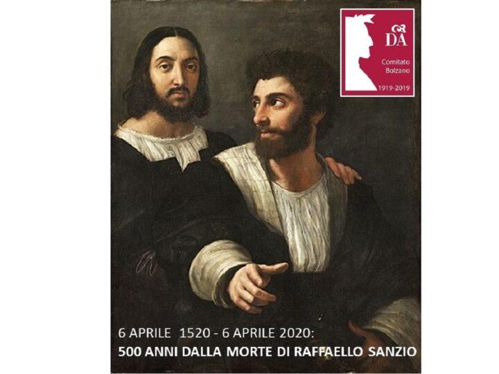 6 aprile 1520 – 6 aprile 2020: 500 anni dalla morte di Raffaello Sanzio