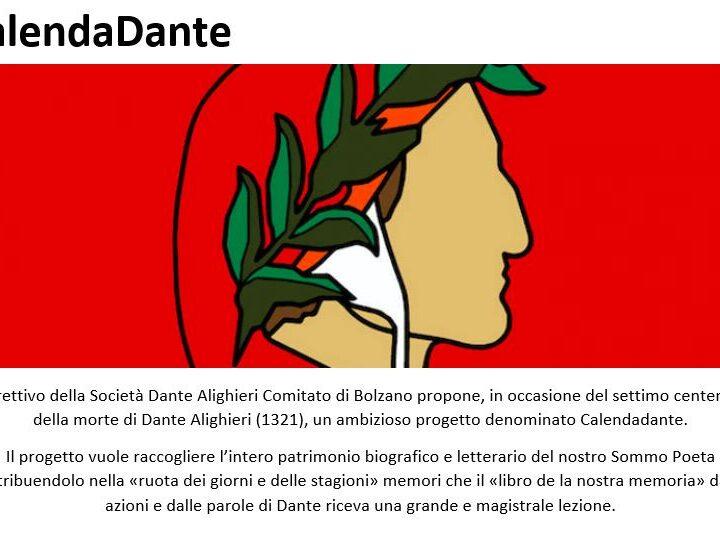 CalendaDante … GENNAIO