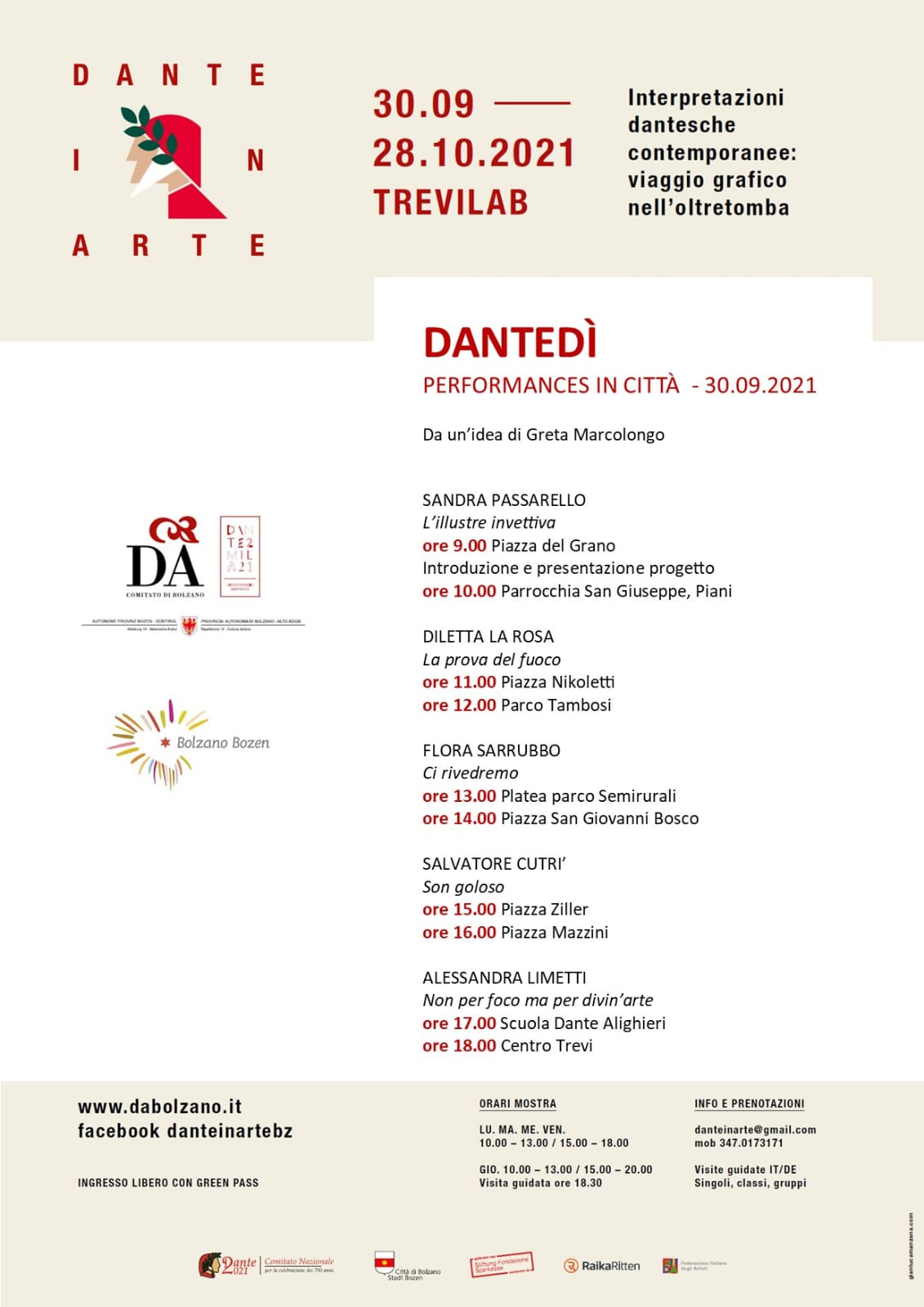 Dante in Arte … Dantedì