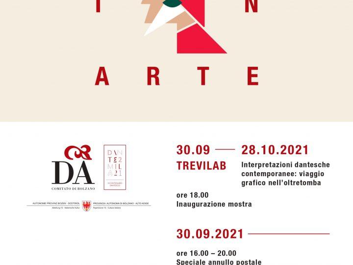 Dante In Arte … locandina