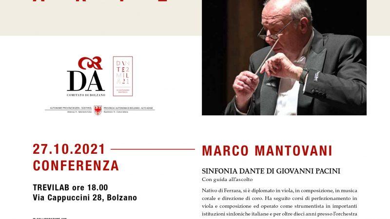 MARCO MANTOVANI – 27 ottobre 2021