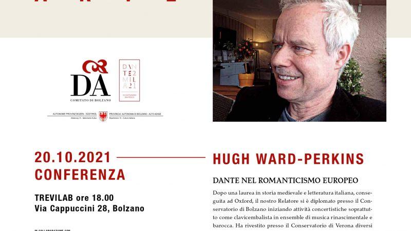 HUGH WARD PERKINS – 20 ottobre 2021
